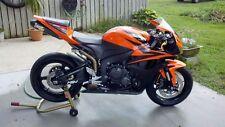 Orange Black Complete Fairing Kit Injection For 2007-2008 Honda CBR600 RR 600 RR