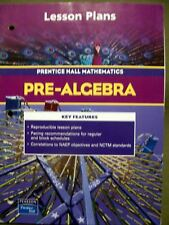 Pearson Prentice Hall Mathematics Pre-Algebra Lesson Plans