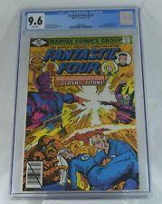 Fantastic Four #212 CGC 9.6 Galactus vs Sphinx Origin(1979)2nd TERRAX Byrne -WP