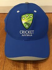 51891d01 Cricket Australia Asics Official 2016/17 Training Cap Hat | Like New