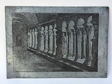 Intéressante Matrice Imprimerie Gravure Cloître Saint Trophime Cathédrale ARLES