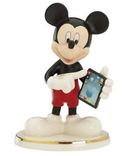 Lenox Disney Cyber Chat With Mickey Mouse Figurine NEW