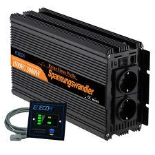 Convertisseur 1500w 3000w onde Sinusoïdale Pure 24v 230v DC to AC Onduleur