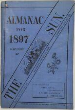 Baltimore Sun Maryland Almanac 1897