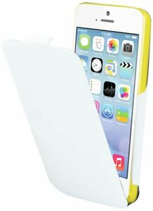 (RV424) JOBLOT of 38 x Muvit MUIFL0041 iFlip White Flip Case for Apple iPhone 5C