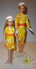 Vintage 60s Barbie Skipper SILKSTONE MOD Jacket Skirt Dress Belt Gloves Hat OOAK