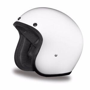 Daytona 3/4 Cruiser Motorcycle Helmet FREE SHIP! Harley Style ALL COLORS!