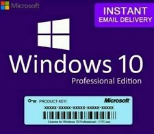 WINDOWS 10 PRO PROFESSIONAL 32 /64 BIT ACTIVATION LICENSE KEY Genuine