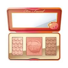Too Faced Sweet Peach Glow 3 Shades Face Blusher Bronzer Highlighter Palette