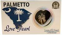 """Love Pearl Creations Palmetto Tree Necklace Jewelry Kit with 16"""" Stainless Chain"""