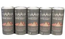 New listing 5-Pk Himalania Himalayan Fine Pink Salt, Non Gmo, Kosher, 6 Ounces Each (T6)