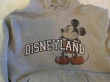 Disneyland Resort Mickey Mouse Gray Hoodie size S