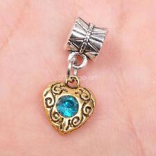 5pcs tibetan Silver  antique gold bails connector Pendant Beads pendants
