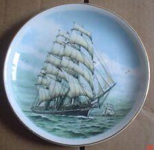 Co Ordinated Ceramics Small Collectors Plate ARIEL Ship