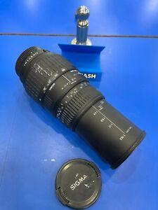 SIGMA 70-300mm f/4-5.6 DL Macro SUPER - Working Order.