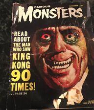 Famous Monsters #20 Nov 1962