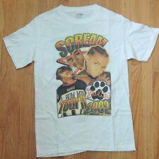 Scream Tour Vintage T Shirt Bow Wow B2K Rap Tee Size Medium 2002 White Omarion