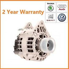 Alternator - SEAT Ibiza, Leon, Toledo 1.4 1.6 1.8 20V 1999-2009 UPRATED 110A
