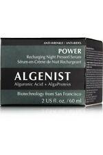 Algenist Power Recharging Night Pressed Serum Alguronic Acid+Alga Protein 2 oz.