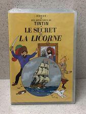 DVD Les Aventures de Tintin Le Secret de la Licorne / Hergé [Neuf sous blister]