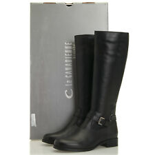 La Canadienne Sunday Black Waterproof Leather Riding Boots - Women's 6 M