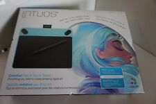 1 Wacom Intuos Art Pen and Touch small Graphics Tablet Blue NEW