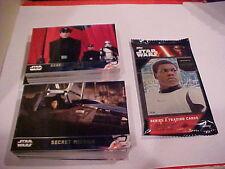Topps Star Wars The Force Awakens Series 2 set 100 cards + Medallion Hot Pack !