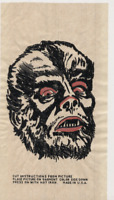 "Wolfman 1960's Universal Monsters Iron-onT-shirt Transfers 3""x5"" 072120DBE"