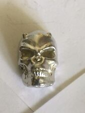Devil Skull TG92 Made from Solid Fine English Pewter Pin Lapel badge
