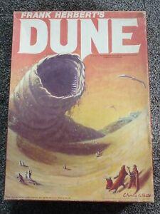 Vintage Frank Herberts Dune Sci-Fi Bookcase Board Game 1979
