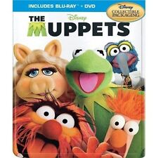 The Muppets Collectible SteelBook [Blu-ray + DVD, Region A, 2-Disc] NEW