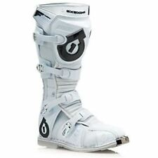NEW 661 SIXSIXONE FLIGHT BOOTS MX OFF-ROAD ATV WHITE SIZE 7 WAS $300 NOW $149.99