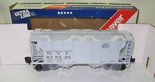 New Weaver Ultra Line PS2 - 34' Covered Hopper Hi-Rail #3027 New York Central