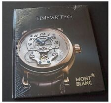 Montblanc 2011 Watch Brochure CATALOGUE HARDCOVER SEALED NEW TIMEWRITERS