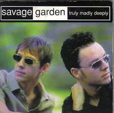 Savage Garden-Truly Madly Deeply cd single