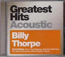 BILLY THORPE - GREATEST HITS - ACOUSTIC - CD - NEW -
