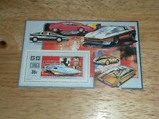 Congo #919 MNH Exotic Sports Car Souvenir Sheet