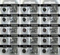 3 x 5 Total of 15 ENERGIZER 371 370 SR920SW D371 D370 LR920 LR921 AG6  Battery