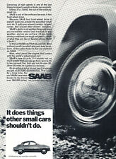 1968 SAAB - 4-cycle V4 - Classic Vintage Car Advertisement Ad J37