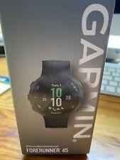 Garmin Forerunner 45 GPS Running Watch With Garmin Coach. Brand New