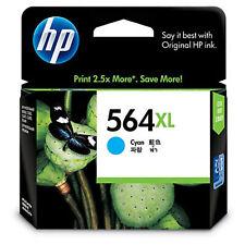 GENUINE Original HP 564XL CYAN Ink Cartridge Toner CB323WA