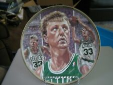 Vintage 1991 Sports Impressions Platinum Ed Larry Bird Collector Plate 1714/5000
