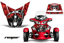 AMR Racing Can Am BRP RTS Spyder Hood Graphic Kit Wrap Roadster Decals REAPER R