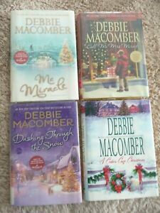 Debbie Macomber Christmas Theme Lot of 4 Hardcover Used Books