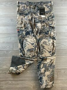 Sitka Mountain Pant Open Country ~ New ~ Size 38 Tall, Knee Pads Optifade
