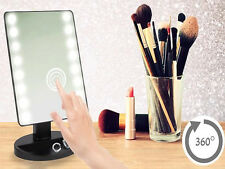 16 LED Luce Lente D'ingrandimento specchio illuminato Touch Screen MAKE UP BELLEZZA COSMETICI