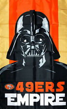San Francisco 49ers NFL Flag 3x5 ft 49ers Empire Sports Banner Man-Cave Garage