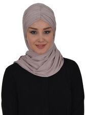 CS-44 Fertig Kopftuch Praktisch Hijab Türban Esarp Sal Tesettür Khimar