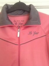 Ladies LA Gear Zip Up Sports Jacket/Top. Size 10. Pink/Grey. New Without Tags.