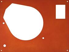 Deckplatte face plate für Thorens TD... für SME Tonarm in orange metallic